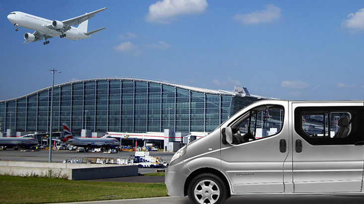 Taxi and Coach Services to Ports & Airports